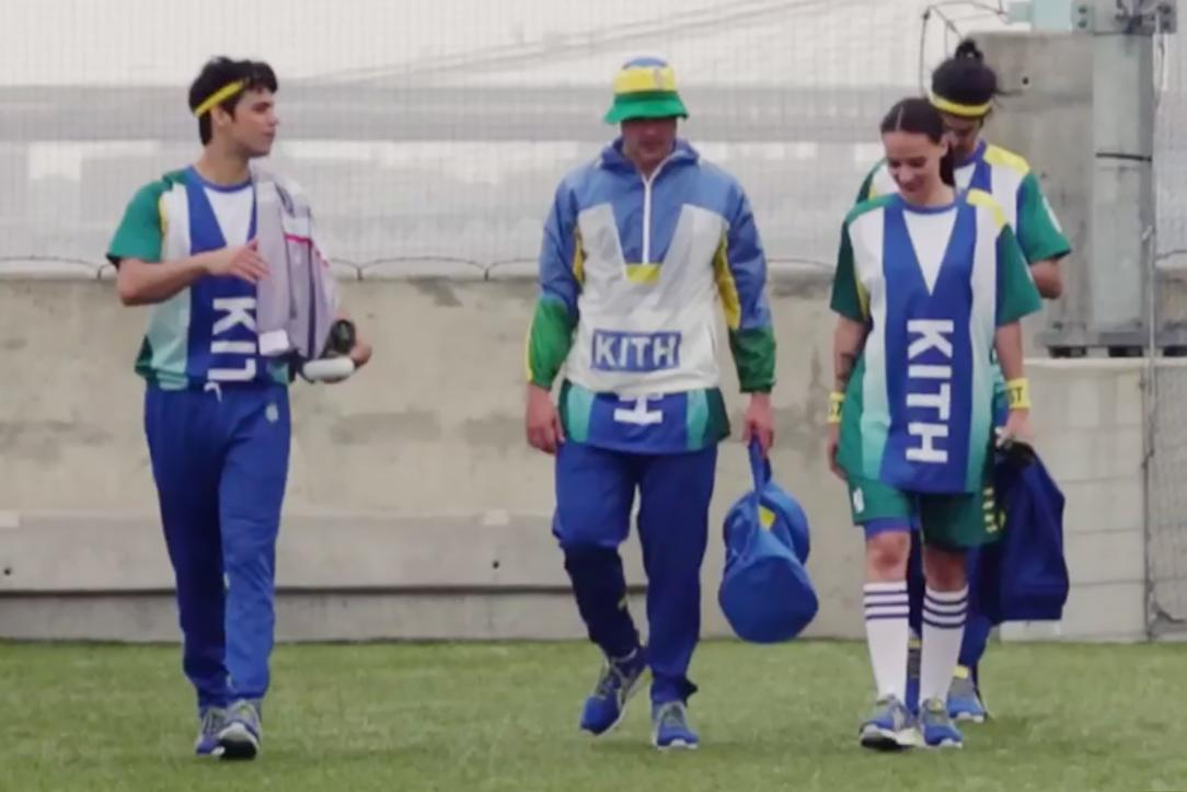 "KITH 2014 Summer ""Football Equipment"" Video Lookbook"