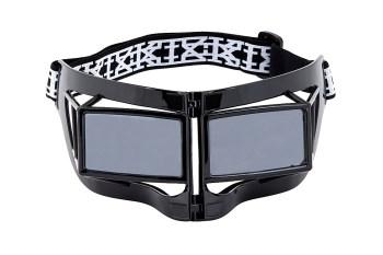 KTZ x Linda Farrow Black Mask Sunglasses
