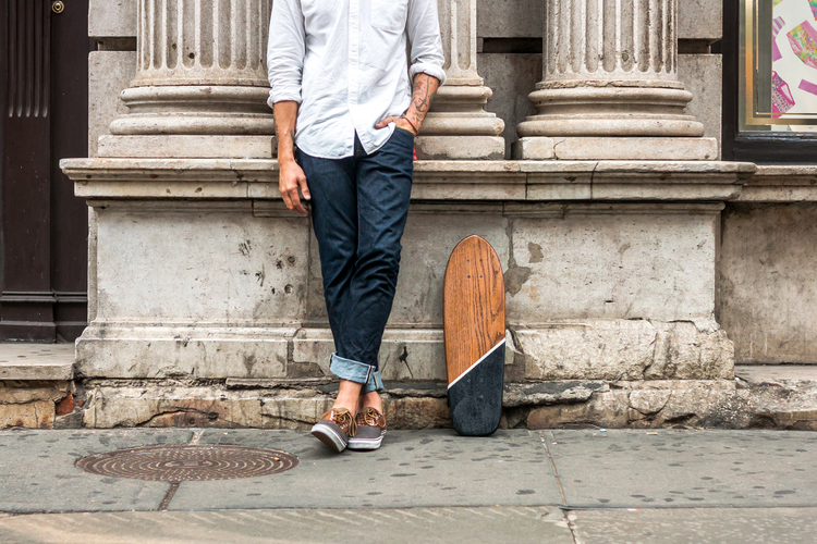 "Lumber Juan x Salemtown Board Co. ""RESURRECTION"" Reclaimed Oak Cruiser"