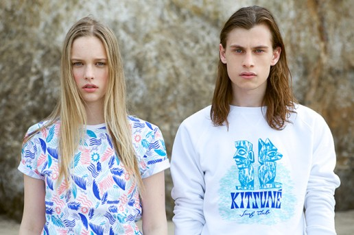 "Maison Kitsuné 2014 Summer ""Surf Club"" Capsule Collection"