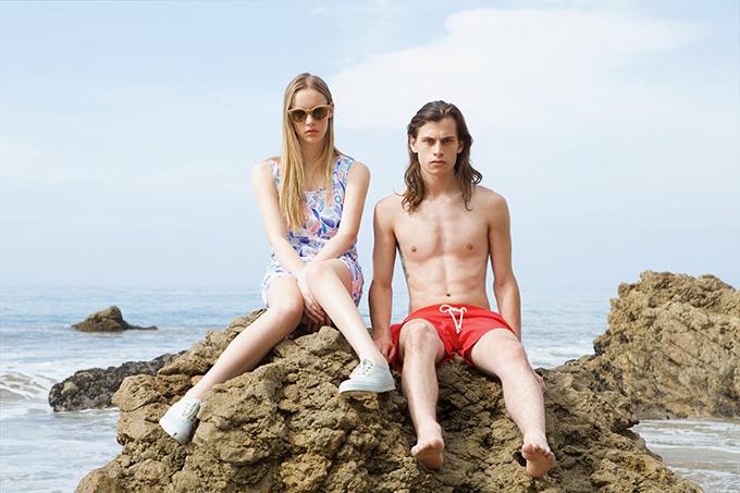 """Maison Kitsuné 2014 Summer """"Surf Club"""" Capsule Collection"""
