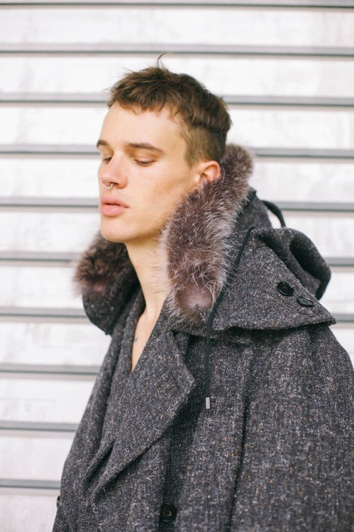 "Maison Martin Margiela 2014 Fall/Winter ""Backstreet Decadence"" Editorial"