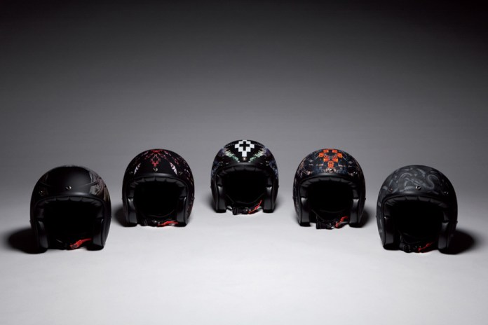 Marcelo Burlon County of Milan Motorcycle Helmets