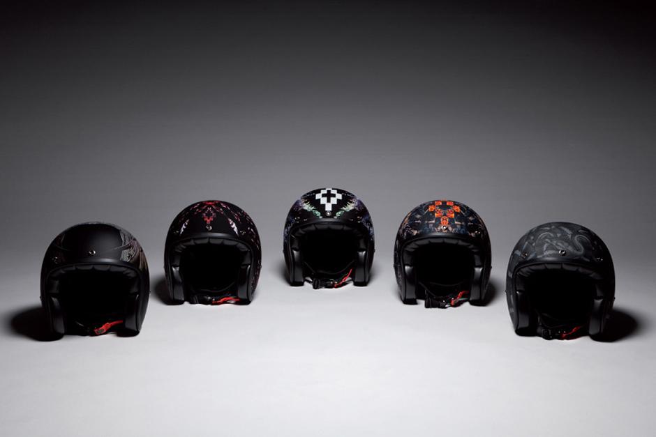 Marcelo Burlon County of Milan Motorcycle Helmets