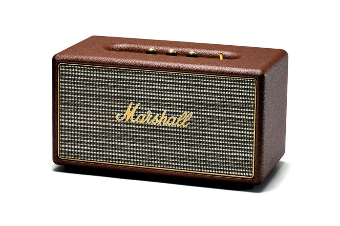 Marshall Brown Stanmore Speaker