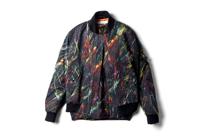 """McQ by Alexander McQueen 2014 Spring/Summer """"Scratched Print"""" Collection"""