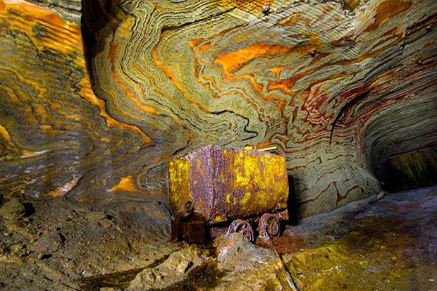 psychedelic russian salt mines by mikhail mishainik