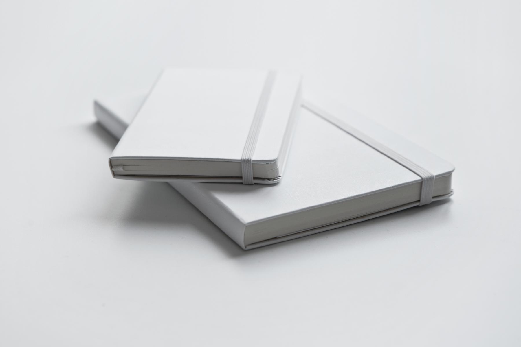 """Moleskine 2014 Summer """"White is the New Black"""" Notebooks"""