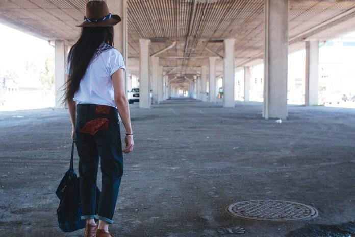Naked & Famous Kimono Jeans