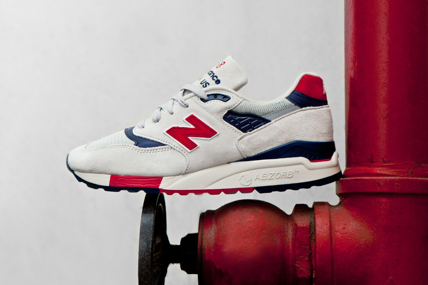 """J.Crew x New Balance Made in USA M998 """"Independence Day"""""""