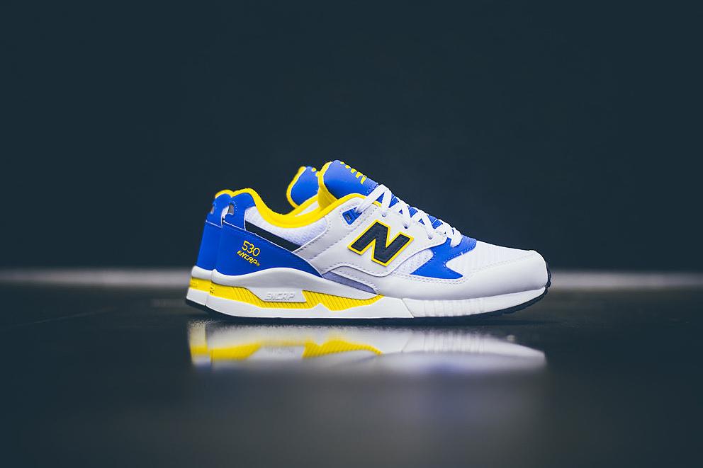 New Balance M530 Blue/White/Yellow