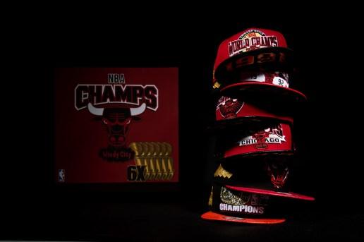 New Era Chicago Bulls Six Championship Collector Pack