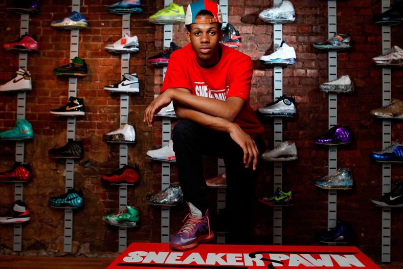 new york teen opens worlds first sneaker pawn shop