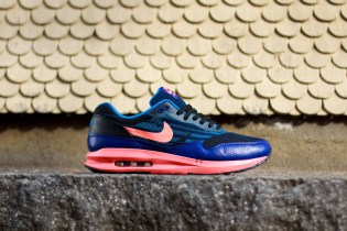 Nike Air Max Lunar1 Jacquard Black/Bright Mango/Deep Royal