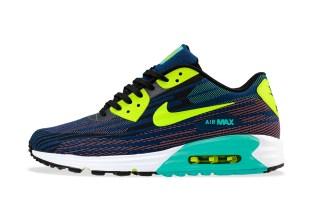 Nike 2014 Summer Air Max Lunar 90 Jacquard