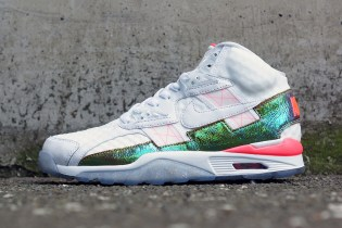 "Nike Air Trainer SC High PRM QS ""Hyper Punch"""