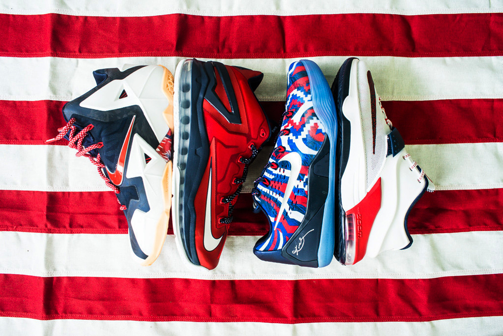 "Nike Basketball 2014 Summer ""USA"" Pack"
