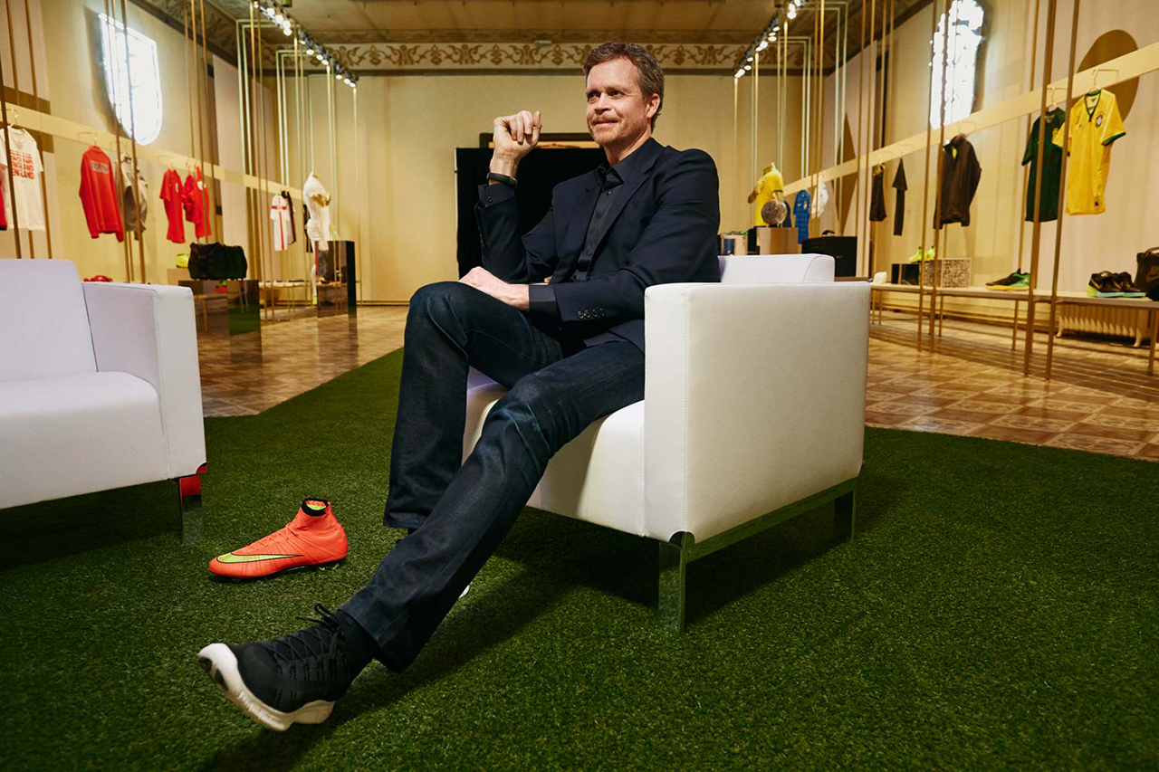 Nike CEO Mark Parker Talks NikeLab with 032c