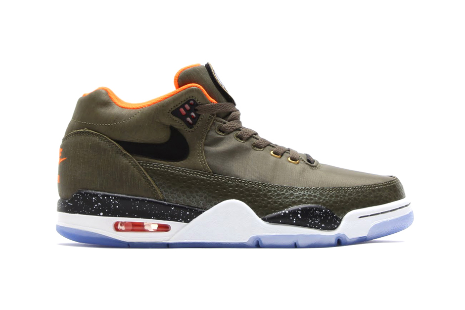 nike flight squad prm qs olive orange