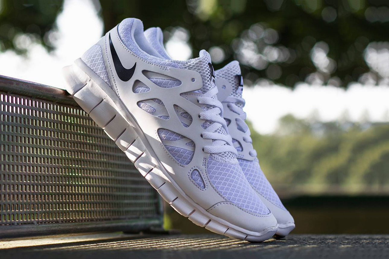Nike Free Run+ 2 White/Black