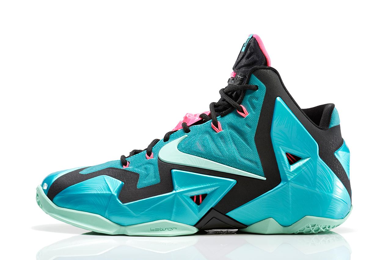 "Nike LeBron 11 ""South Beach"""