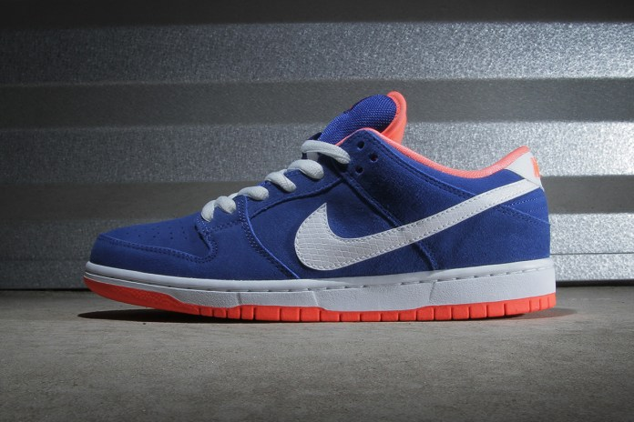 Nike SB Dunk Low Pro Game Royal/White-Bright Mango