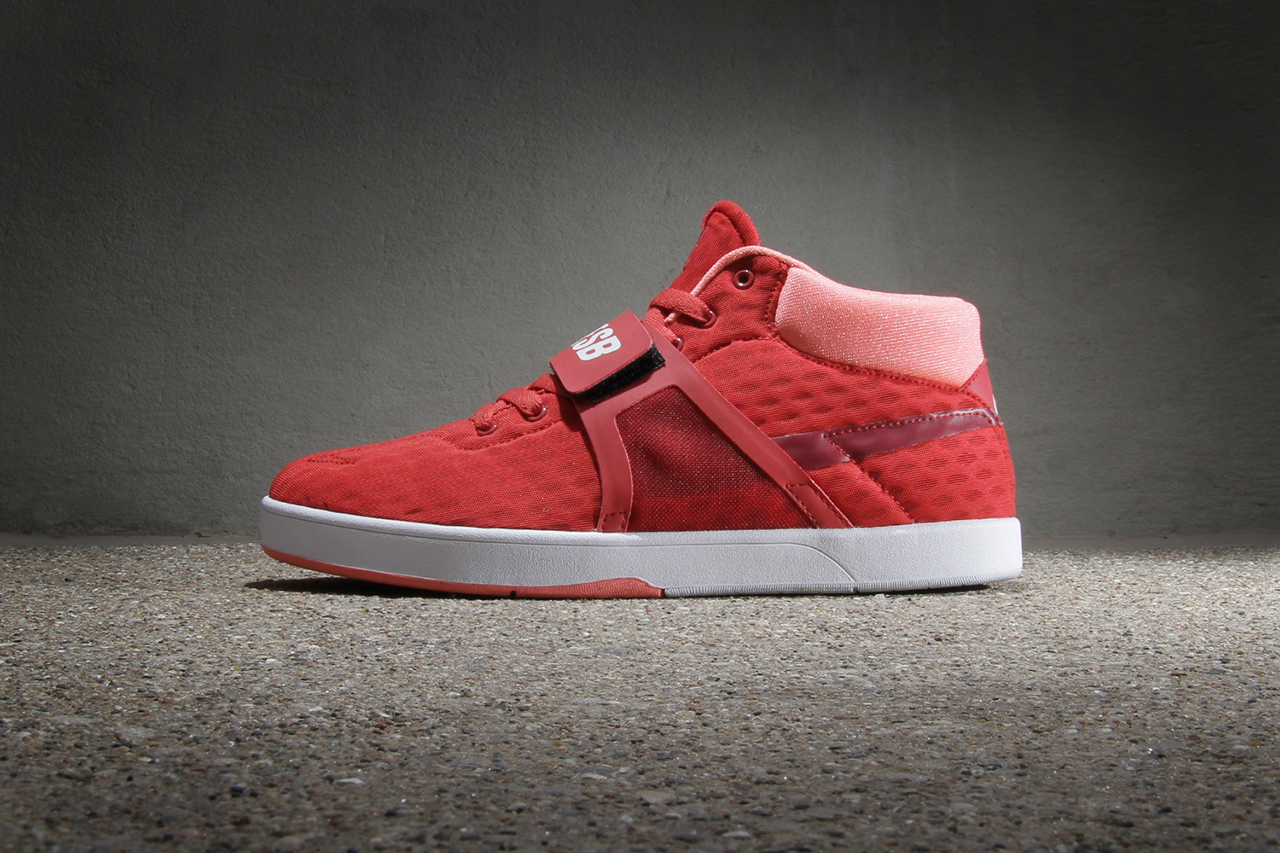 nike sb eric koston mid r r red clay team red bright mango