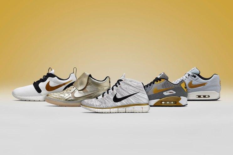 """Nike Sportswear 2014 Summer """"Gold Hypervenom"""" Collection"""