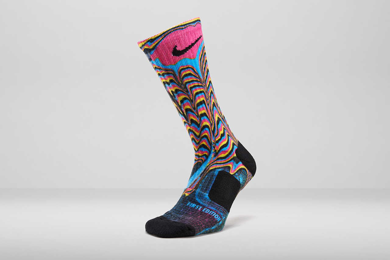 Nike Unveils Elite Digital Ink Sock Printing Process