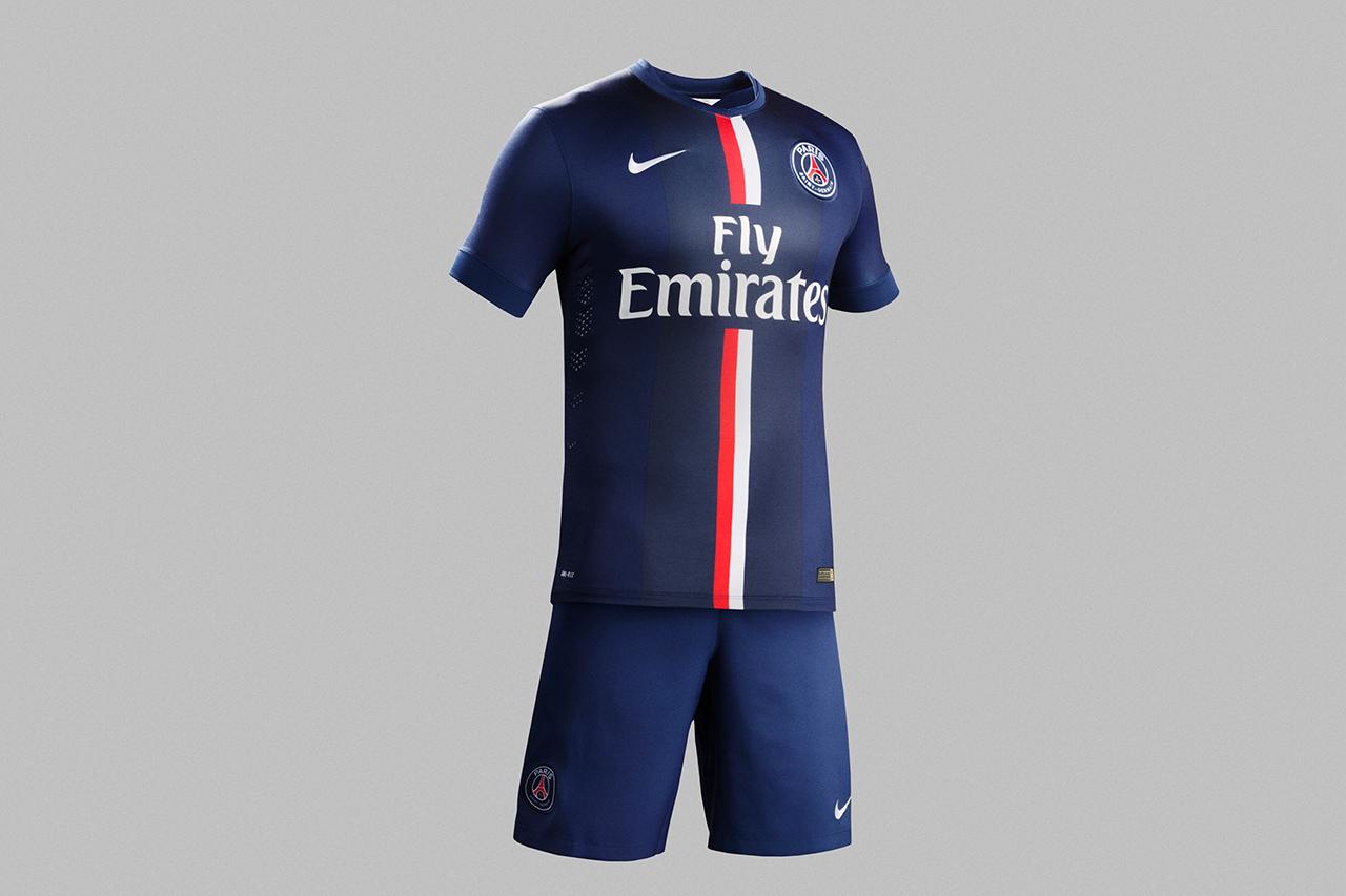 Nike Unveils Paris Saint-Germain's New 2014/15 Kit