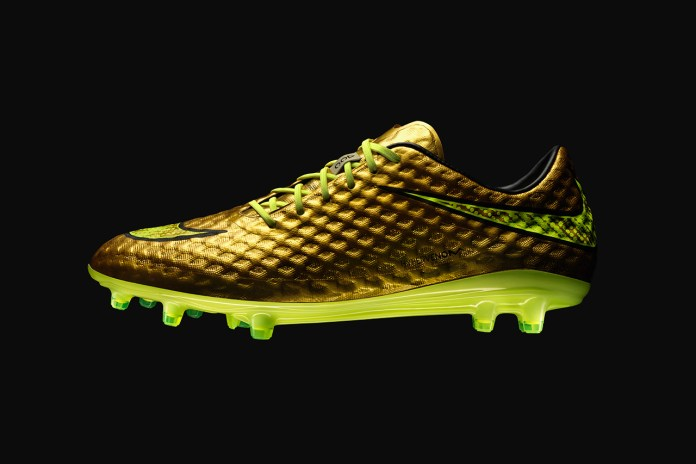Nike Unveils the Hypervenom Phantom Gold Special Edition for Neymar