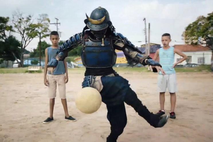 "Nissin Cup Noodle ""Samurai in Brazil"" Commercial"