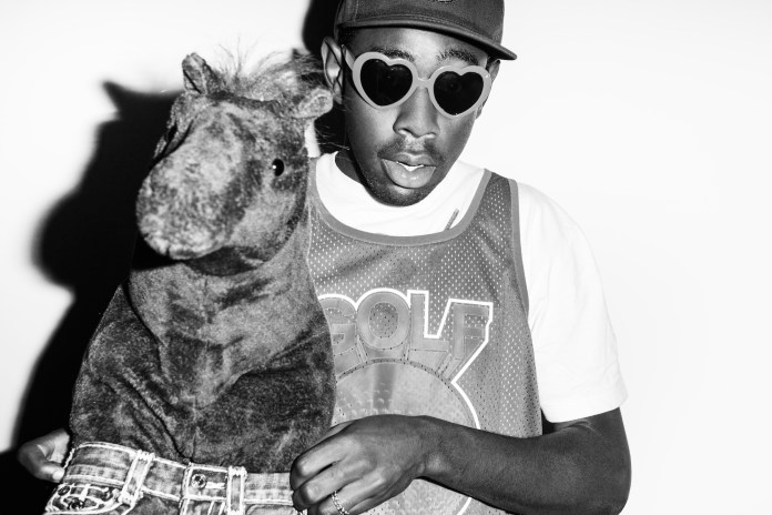 Steven Taylor Photographs Tyler, The Creator for NYLON