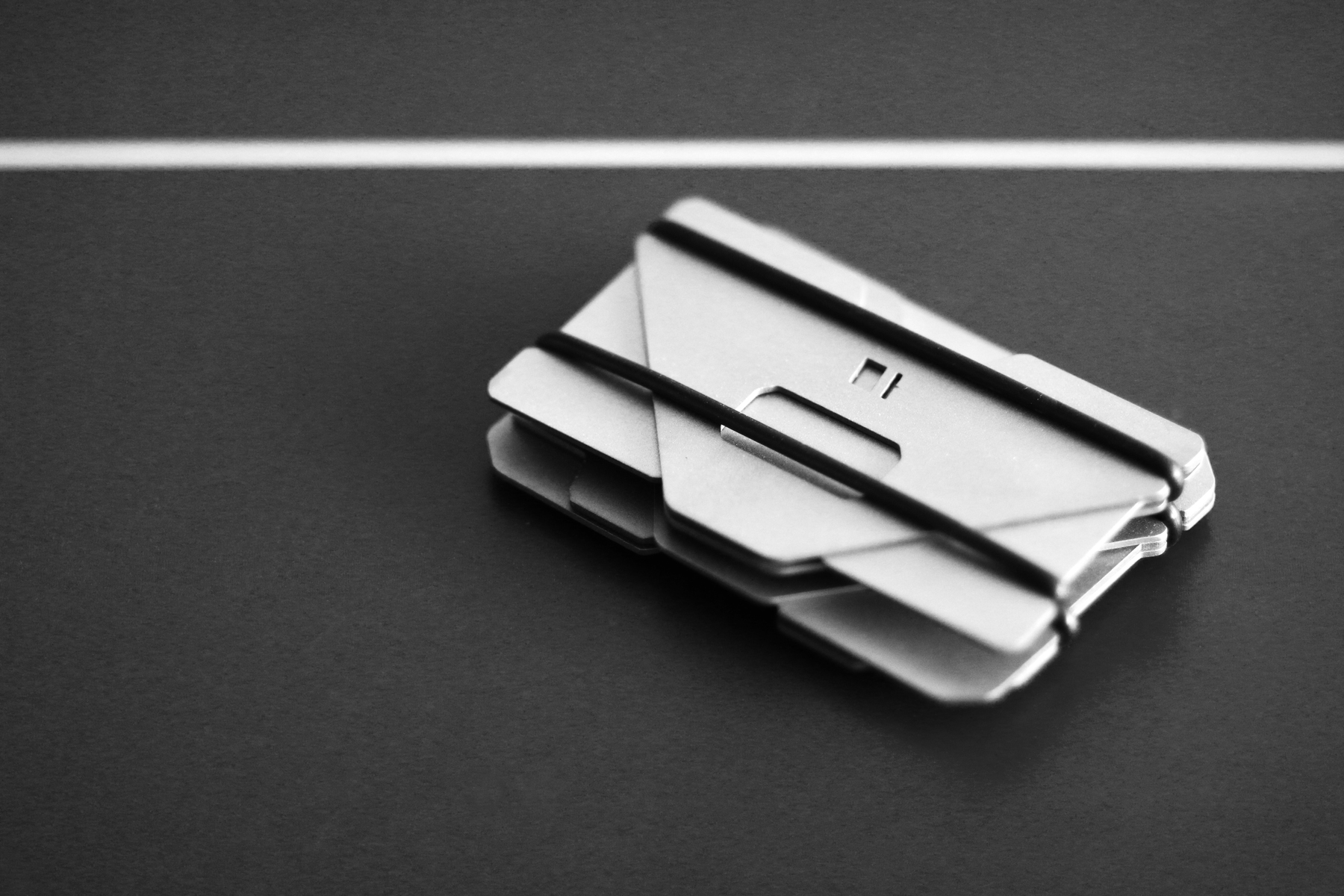 Obstructures Aluminum Plate Wallets