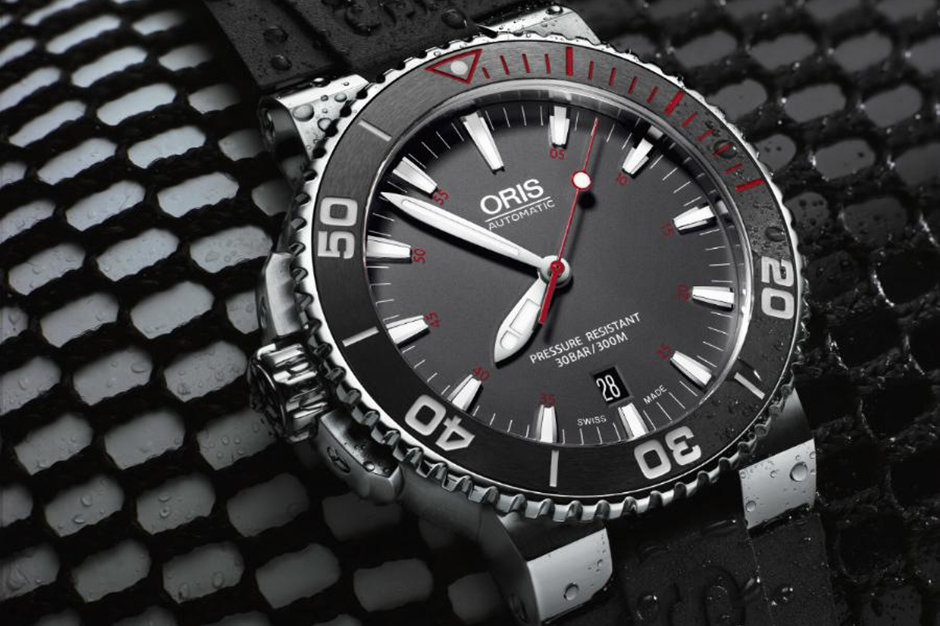 Oris' Latest Aquis Red L.E. is Dedicated to the Red Sea Environmental Center