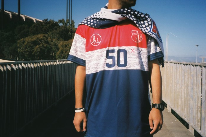 "Paradise Soccer Club x In4mation 2014 Summer ""Merica"" Collection"