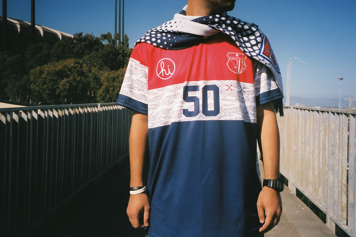 """Paradise Soccer Club x In4mation 2014 Summer """"Merica"""" Collection"""