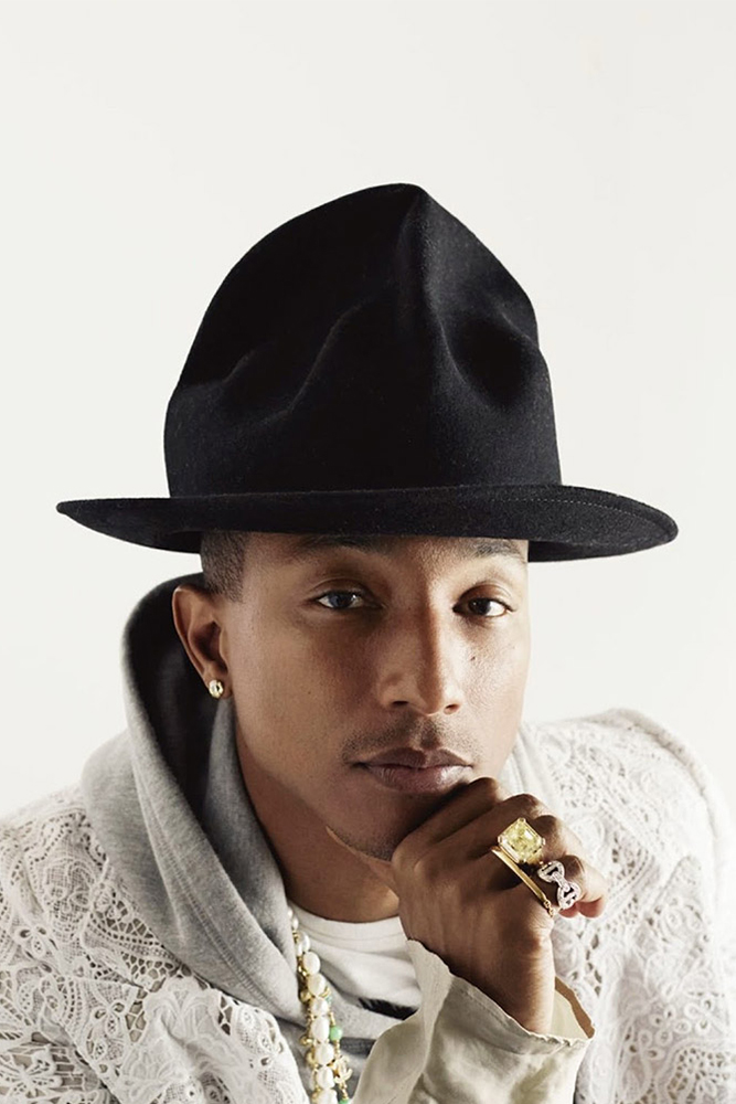 pharrell williams by doug inglish for elle uk