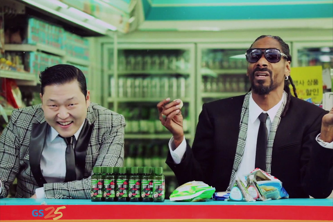 """PSY featuring Snoop Dogg """"Hangover"""" Music Video"""