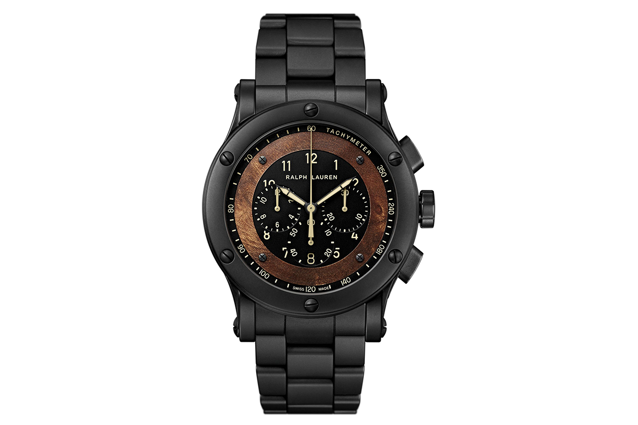 ralph lauren ceramic automotive watch