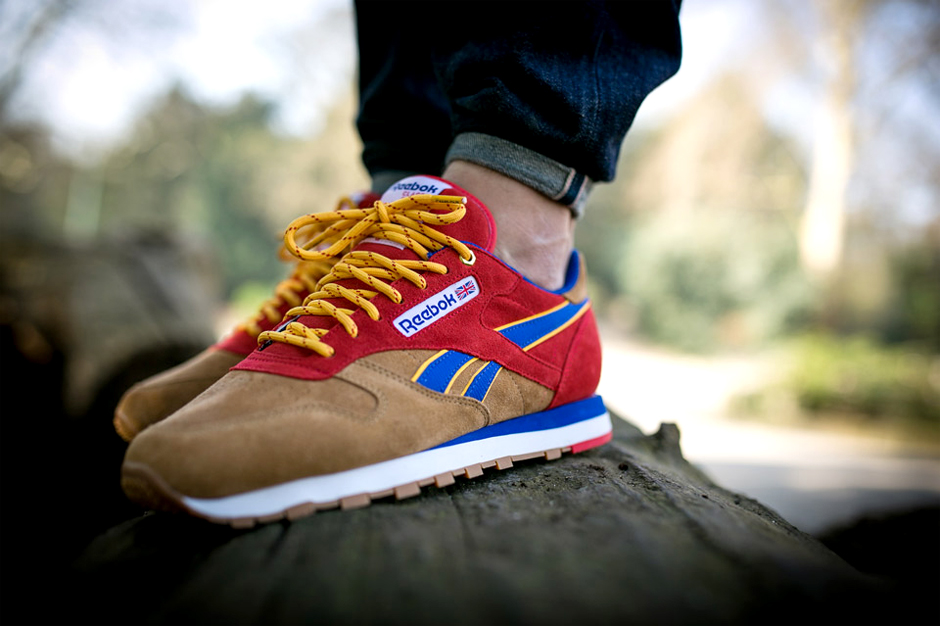snipes x reebok classic leather camp out