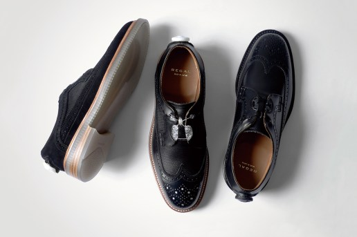 "REGAL 2014 Wingtip ""Boa Technology"" Collection"