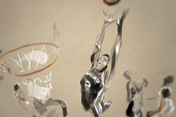 Richard Swarbrick Animates The 2014 NBA Finals
