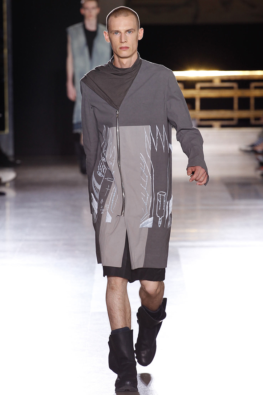 Rick Owens 2015 Spring Collection