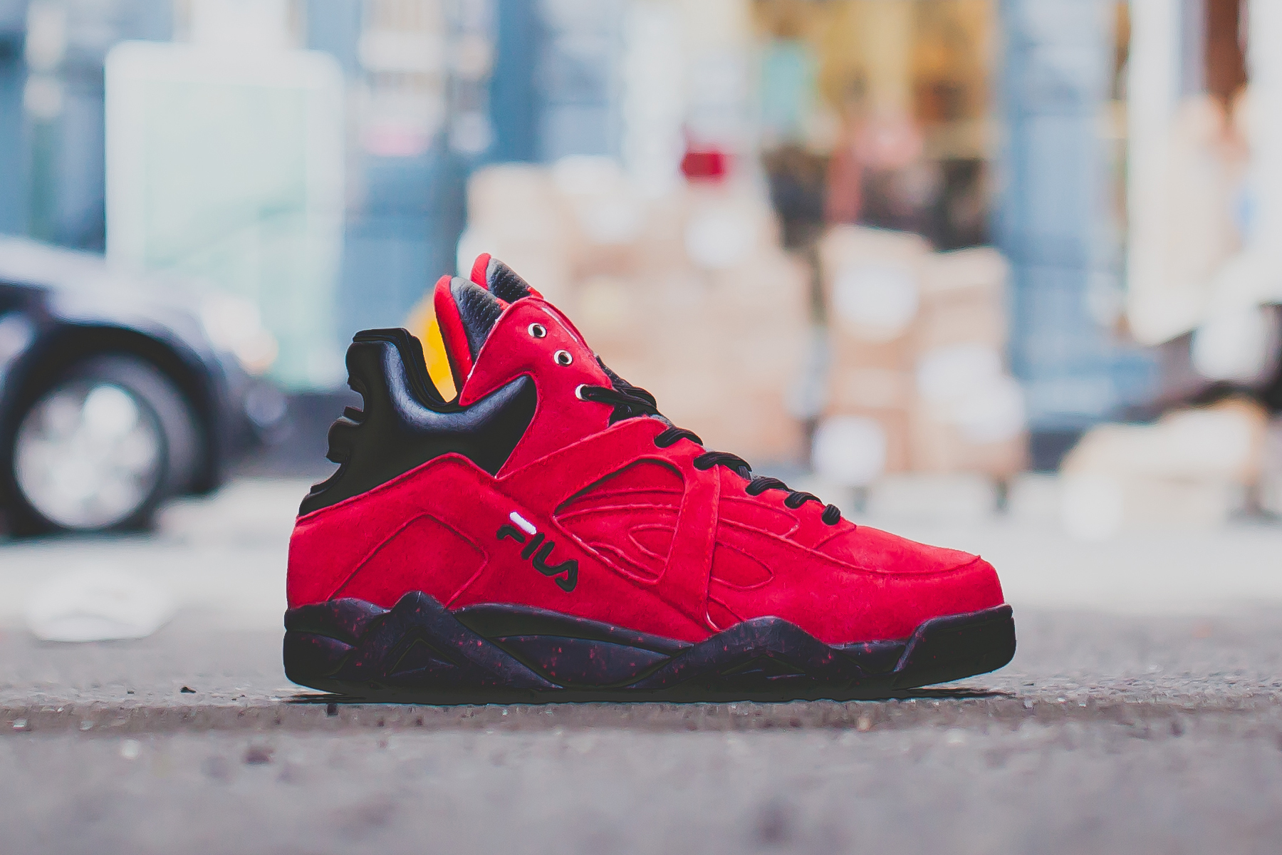 """RISE x FILA Cage """"New York Is For Lovers"""" Collaboration"""