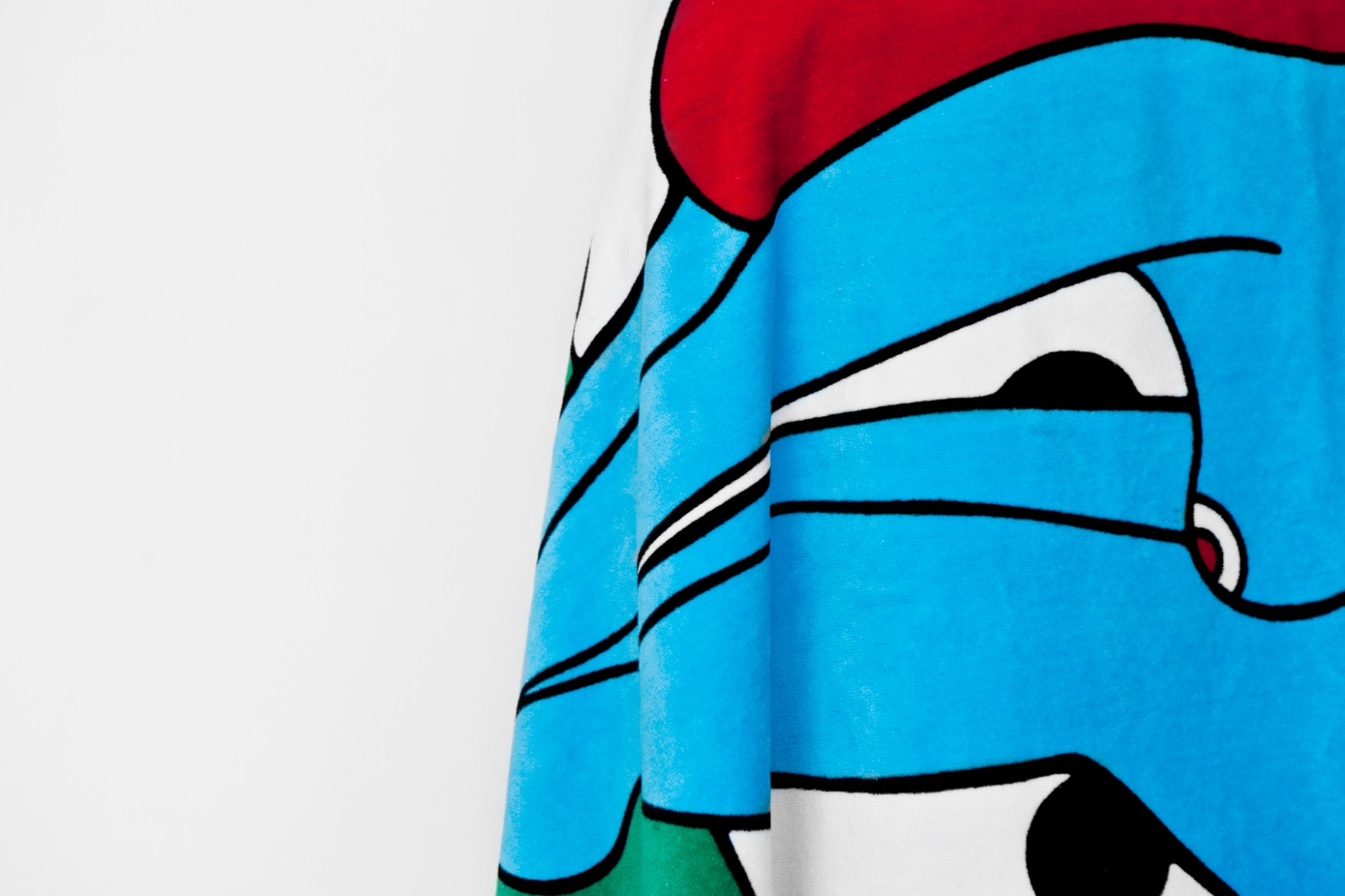 """Rockwell by Parra 2014 """"The Dive"""" Beach Towel"""