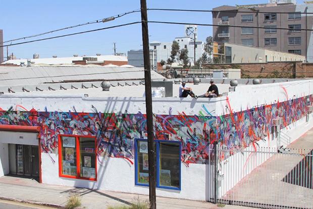 Saber x Zes x Branded Arts Mural Collaboration