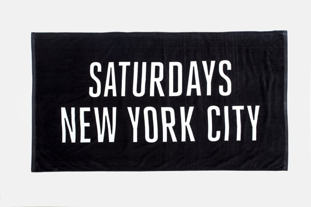 Saturdays NYC 2014 Summer Beach Towels