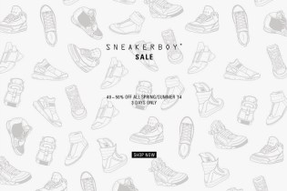 SNEAKERBOY Offering 40-50% Off All Spring/Summer 2014 Items
