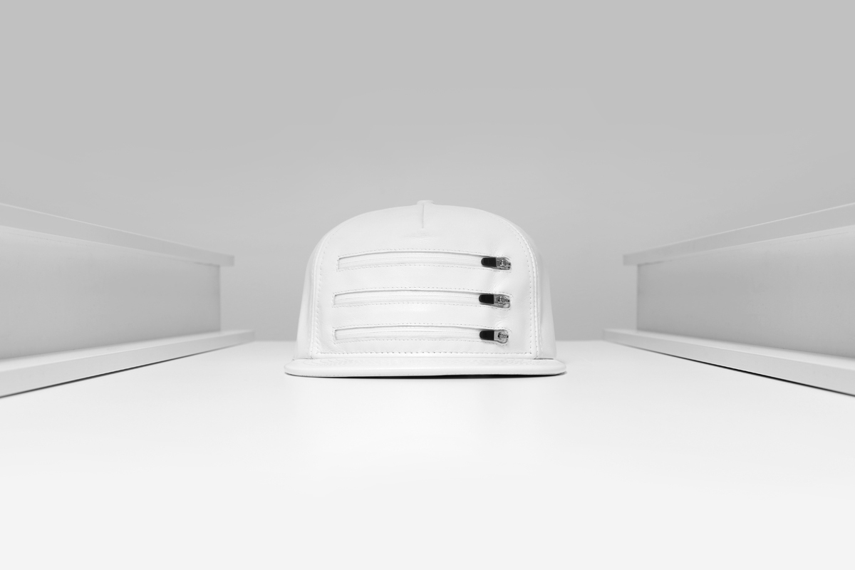 stampd 2014 spring summer three zipper leather hats